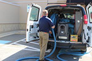 Sewage Restoration Van